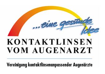 Logo-Kontaktlinsen